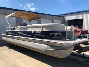 Used Misty Harbor 2585 CS2585 CS Pontoon Boat For Sale