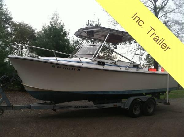 Used Shamrock 260 Predator Walkaround Fishing Boat For Sale