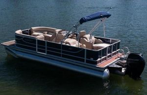 New Crest II 250 Pontoon Boat For Sale