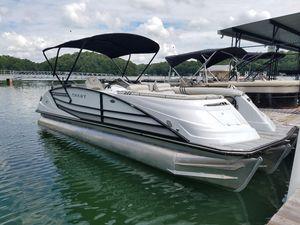 New Crest Savannah 250 Pontoon Boat For Sale