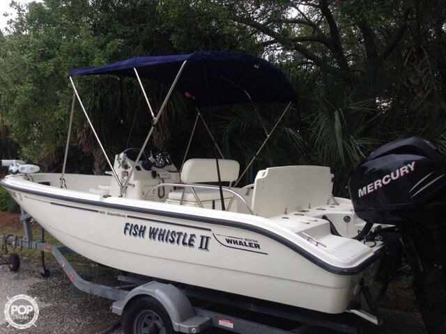 Used Boston Whaler 180 CC Dauntless Center Console Fishing Boat For Sale
