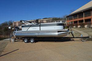 New Crest I 220 Pontoon Boat For Sale