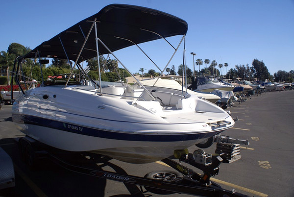 Used Ebbtide 2500 SS DECKBOAT Deck Boat For Sale