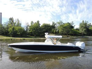 Used Marlago 35 FS Cuddy Center Console Fishing Boat For Sale