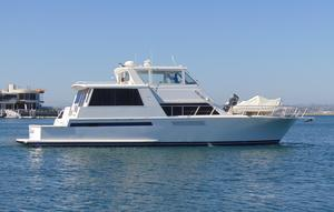 Used Viking Cockpit Sports Yacht Motor Yacht For Sale