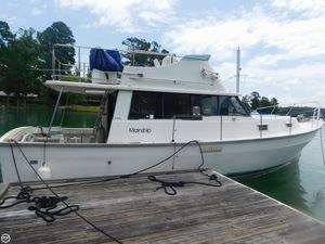 Used Mainship 34 Diesel Cruiser Trawler Boat For Sale