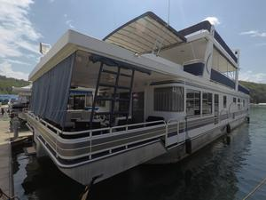 Used Horizon 19 X 86 Widebody House Boat For Sale