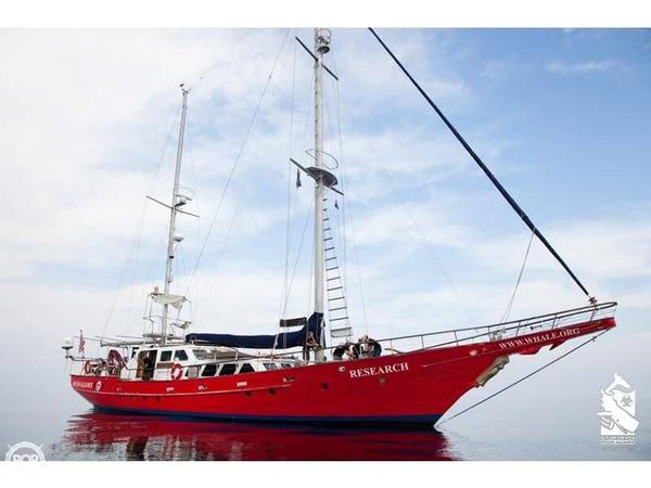 Used Whangarei Engineering 78 Custom Motorsailer Sailboat For Sale