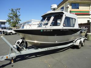 Used Hewescraft 220 Ocean Pro Sports Fishing Boat For Sale