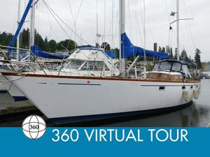 Used Custom Luengen 43 Offshore Ketch Pilothouse Sailboat For Sale