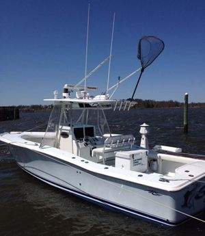 Used Jersey Cape Center Console Diesel Center Console Fishing Boat For Sale