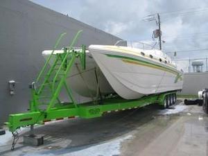 Used Eliminator 40 Sport Cat Power Catamaran Boat For Sale