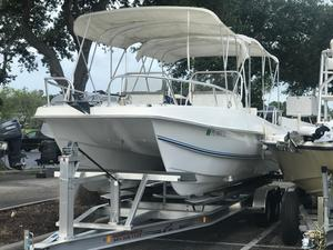 Used Twin Vee 26 Ocean Cat Dual Console Cruiser Boat For Sale