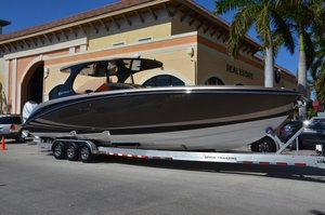 Used Mystic Powerboats M4200 High Performance Boat For Sale