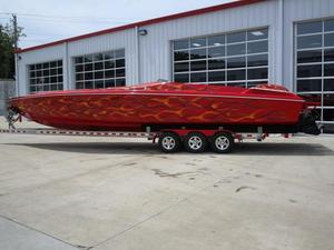 Used Wellcraft 38 Scarab High Performance Boat For Sale