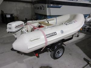 Used Nautica Rib 10U Rigid Sports Inflatable Boat For Sale