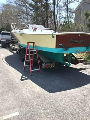Used Custom Stellwagen CC Downeast Center Console Fishing Boat For Sale