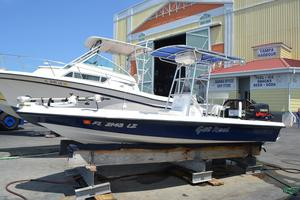 Used Shearwater 2200 Saltwater Fishing Boat For Sale