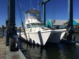 Used Baha Cruisers 340 King Cat Power Catamaran Boat For Sale