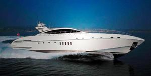 Used Mangusta 92 Flybridge Boat For Sale