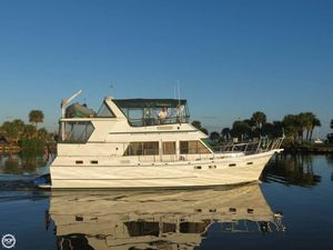 Used Present Yachts Sundeck 42 Trawler Boat For Sale