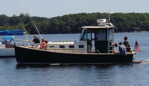 Used Calvin Beal Custom 28 Walkaround Downeast Fishing Boat For Sale