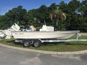 New Sea Born FX21 Bay Saltwater Fishing Boat For Sale
