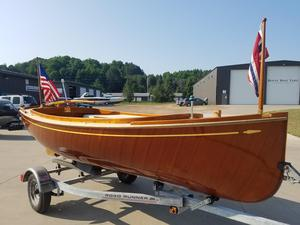 Used Custom Launch Tender Boat For Sale