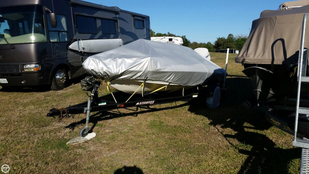 2003 Used Stratos 170 Javelin Sc Bass Boat For Sale -  10 500