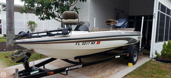 Used Stratos 170 Javelin SC Bass Boat For Sale