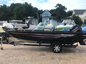 Used Ranger VS1670 WTVS1670 WT Aluminum Fishing Boat For Sale