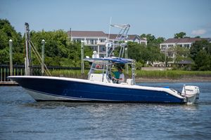 Used Triton 351 CC351 CC Saltwater Fishing Boat For Sale