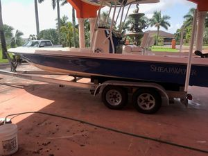 Used Shearwater 23TE Center Console Fishing Boat For Sale