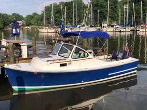 Used Sisu Downeast Fishing Boat For Sale