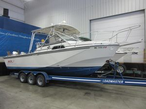 Used Boston Whaler 27 Saltwater Fishing Boat For Sale