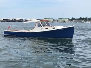 Used Holland 32 Lobster Boat Downeast Fishing Boat For Sale