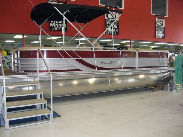 New South Bay 524E Pontoon Boat For Sale