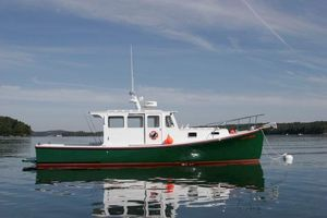 Used Holland 32 Downeast Hardtop Cruiser Downeast Fishing Boat For Sale