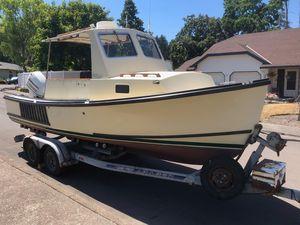 Used Eastern SISU 22 Cuddy Commercial Boat For Sale