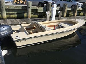 Used Rossiter R 14 Side Console Tender Boat For Sale