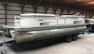 Used Suncruiser LS240 Cruiser Pontoon Boat For Sale