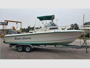 Used Angler 220 Walkaround Sports Fishing Boat For Sale