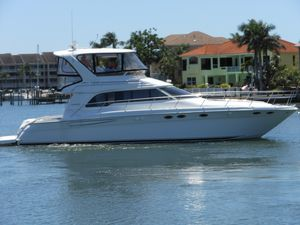 Used Sea Ray 480 Sedan Bridge Flybridge Boat For Sale