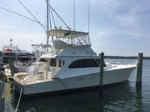 Used Post 50 FB Convertible Sports Fishing Boat For Sale