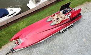 Used Motion Marine 35 XP High Performance Boat For Sale