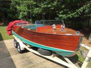 Used Chris-Craft Style Tripple Cockpit Antique and Classic Boat For Sale