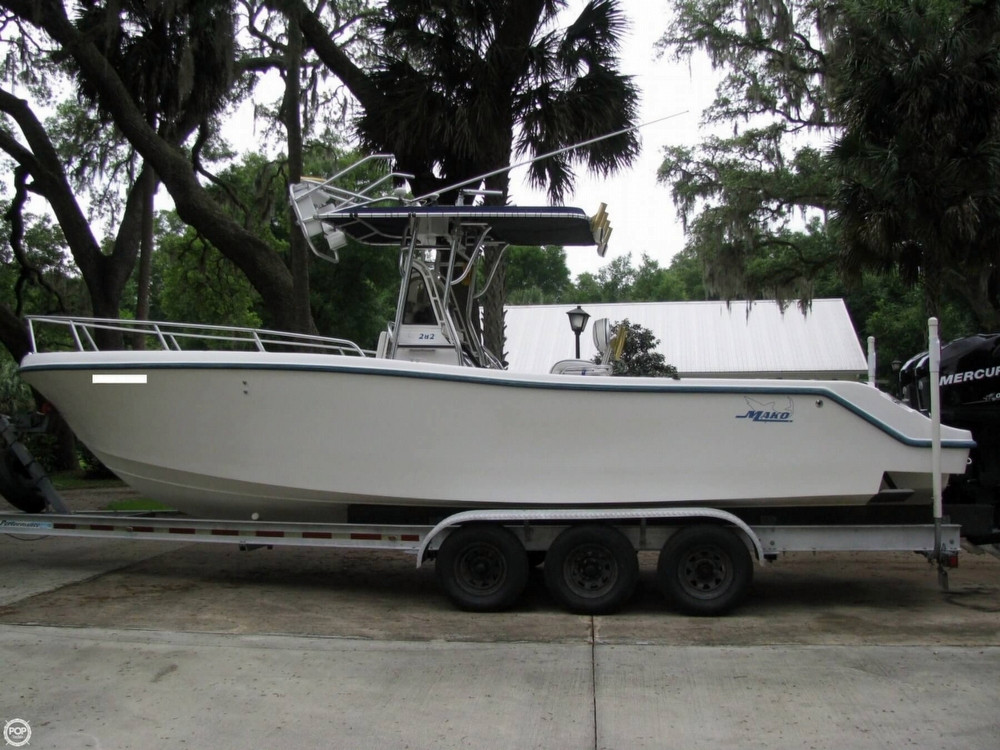 1999 used mako 282 cc center console fishing boat for sale for Used center console fishing boats for sale