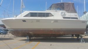 Used Trojan 36tri-cabin Motor Yacht For Sale