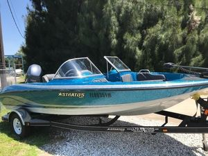 Used Stratos 486 SF Freshwater Fishing Boat For Sale