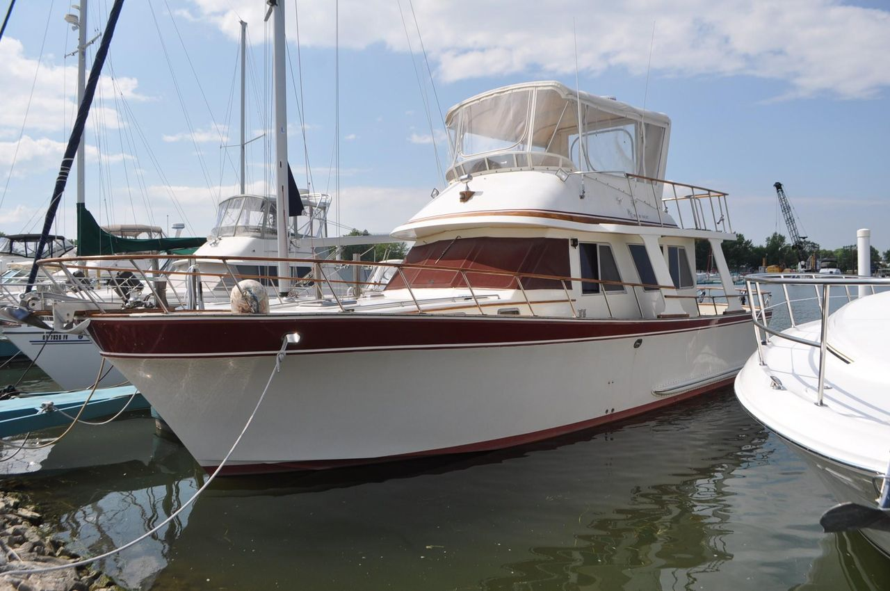 1985 Used Pt 42 Performance Trawler Boat For Sale - $69,900 - Port